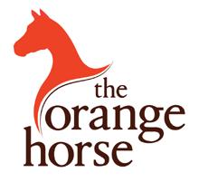 the orange horse