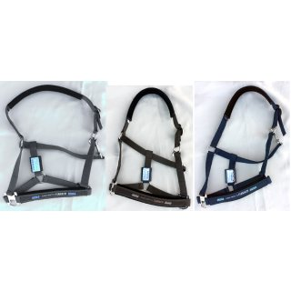 Eskadron head collar with sliding buckle - classic sports