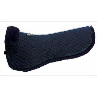Euroriding saddle pad with lambskin