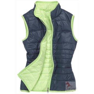 euro-star ladies quilted vest Amalia - reversible vest