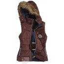euro-star ladies vest Meg - with removable hood