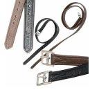Passier Euroriding leather stirrup leathers with nylon...