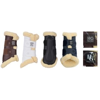 eldorado Horse Guard gaiters with imitation lambskin