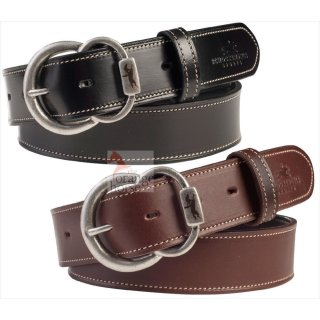 Schockemöhle belt contrast stitching SPORTS dressy belt