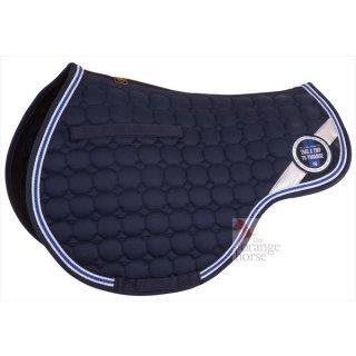 Bieman de Haas saddle cloth Passion Cormorant