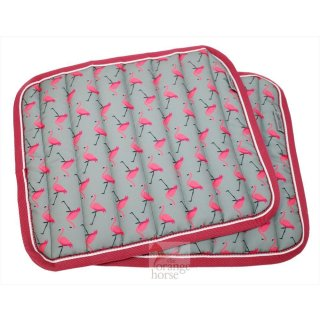 Equest Bandagenunterlagen Flamingo Fashion - 2er Set