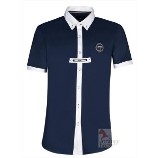 Equiline mens competition shirt Trey - stretch