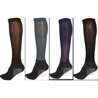 2db10280cdb Esperado nylon knee socks - extra thin - 3-pack