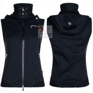 euro-star ladies softshell vest Filipa, with detachable hood