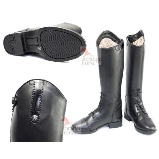 Hobo children riding boots - zip and lace