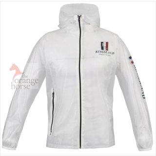Kingsland Unisex rain jacket, transparent PVC