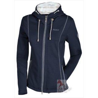 Pikeur fleece jacket Leona - with fixed hood