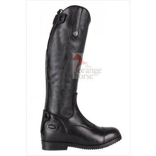 QHP leather riding boot Birgit Junior - zip back