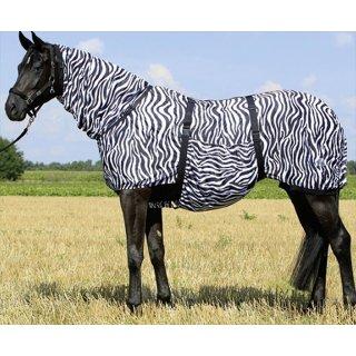 Busse Ekzemerdecke Zebra - fest integriertes Halsteil