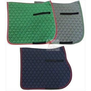 EQuest cotton saddle pad diamond - with cord