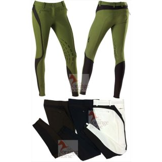 Equiline ladies breeches Leah - with knee grip stocking