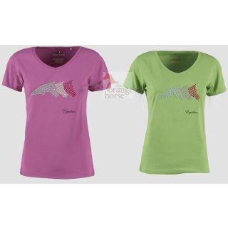 Equiline Damen T-Shirt Irene - tolles Design