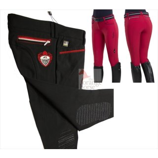 Equiline ladies breeches Maud - knee patches Grip