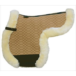 Eurording saddle blanket under completely lined w. sheepskin