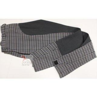 ELT ladies breeches - lifestyle gray plaid