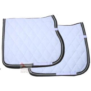 Equest saddle pad cotton-basic Premium-white