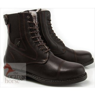 Hobo boot Frosty NF - lace and zipper lined