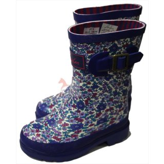 limeblack Tomjoule-Joules Gummistiefel Wellyprint