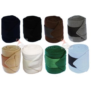 Euroriding 4-set fleece bandages Polo - 3,5 m