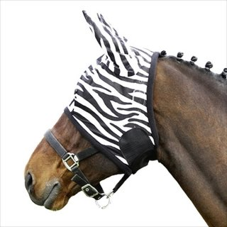 Euroriding fly mask Zebra