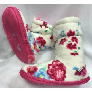 Tom Joule - Joules Kinder Hausschuhe Fluffy Slipper Sock